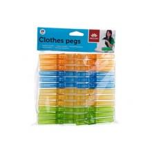 BRILANZ Plastové kolíčky na prádlo 24ks 43XY9905-424