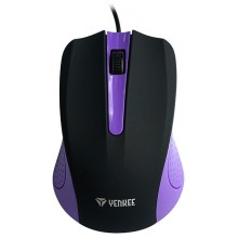 YENKEE YMS 1015PE Myš USB Suva fialová 45010822