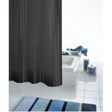 SAPHO SATIN sprchový závěs 180x200cm, černá 47850