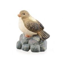 VETRO-PLUS Zvířátka terakotová pták na kameni 47HC107290
