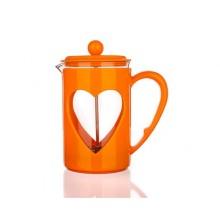BANQUET Konvice na kávu Darby 800ml oranžová 49B040O