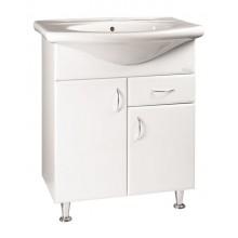 SAPHO KERAMIA skříňka pod umyvadlo 70cm , bílá 50070