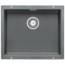 BLANCO Subline 500 - U dřez Silgranit aluminium 513414