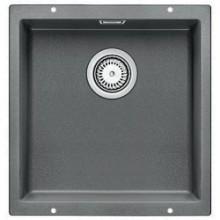 BLANCO Subline 400 - U dřez Silgranit aluminium 518556