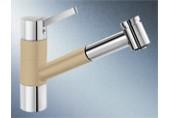 BLANCO Tivo - S dřezová baterie béžová champagne /chrom 517615