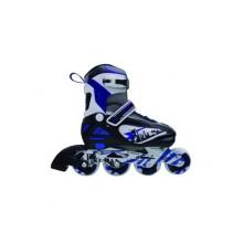 SPORTWELL Kolečkové brusle ABEC-9, vel.S, barva modrá 51YX0151BS
