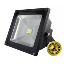 LED reflektor SMD 30W černý, 1xCOB LED WM-30W-E