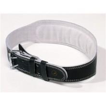 SPORTWELL Pás kožený na silová cvičení a vzpírání šíře 10 cm, velikost XL 52KOZPMXL
