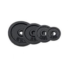 SPORTWELL Závaží kusové černé z litiny 20 kg 52PL0120