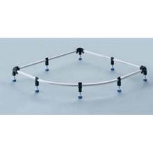 Kaldewei FR 5300-17 instalační rám pro vaničky ARRONDO do rozměru 100 x100 cm 530000170000