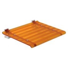 SAPHO Koh-i-noor 5368A LEO sprchové sedátko 40x31cm, oranžová