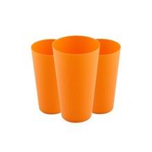 VETRO-PLUS Pohár nápojový plastový 3-dílná sada, 0,58 L 55151YB-3