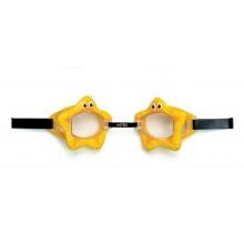 INTEX Dětské brýle do vody, žluté 55603