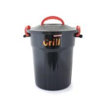 VETRO-PLUS Úložný box na dřevěné uhlí 25 l 556725
