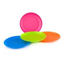 VETRO-PLUS talíř plastový PP mělký 205x20mm 558439