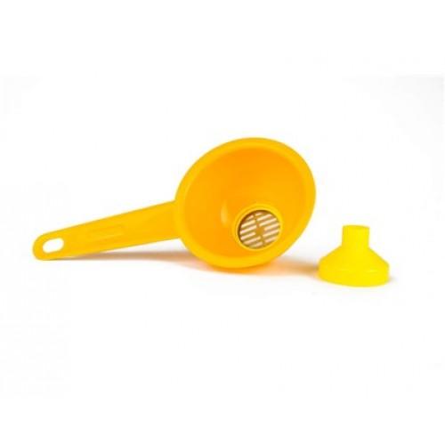 VETRO-PLUS sítko olejové průměr 114 mm žlutá 55G138