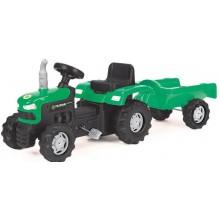 BUDDY TOYS BPT 1013 Šlapací traktor s vozíkem 57000765