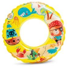 INTEX Nafukovací kruh 61cm piráti 59242NP