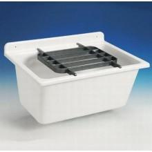 ABUSANITAIR mycí vanička 61 x 45,5 x 28,5 cm, bílá 60003010099