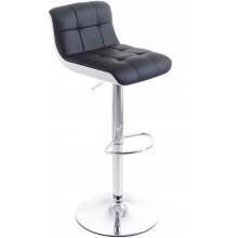 G21 Barová židle Treama koženková černá/bílá 60023084