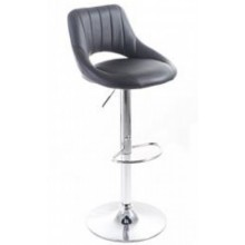 G21 Barová židle Aletra koženková, prošívaná černá 60023095