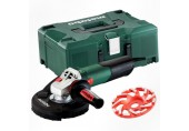 METABO WE 15-125 HD Set GED Metaloc Úhlová bruska 600465500
