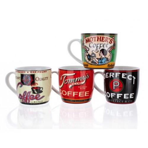 BANQUET hrnek Retro Coffee assorted 60JG003