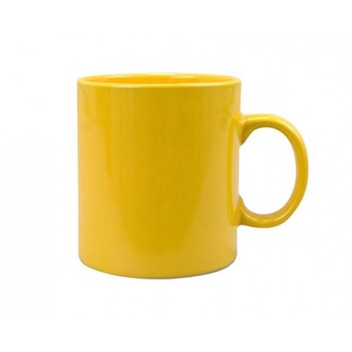 VETRO-PLUS hrnek keramický žlutý promo 60JSM6578P
