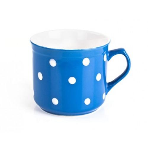 BANQUET hrnek BIG modrý s puntíky 60JSM9974N-C