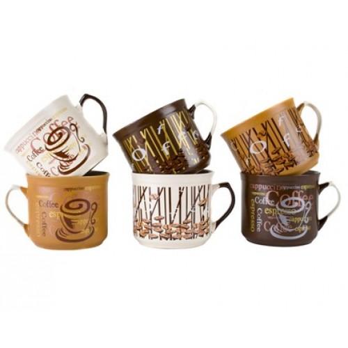 VETRO-PLUS hrnek BIG Coffee assort. 60JSM99901