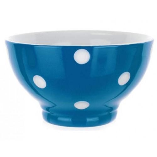 BANQUET miska modrá s puntíky 60K1575-B