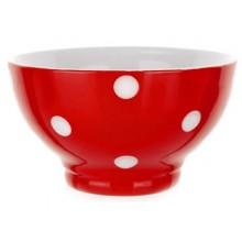 BANQUET miska červená s puntíky 60K1575-C
