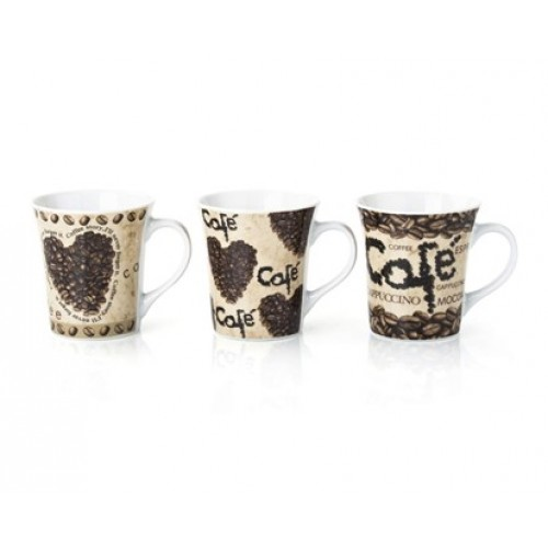 BANQUET hrnek kávové variace, assorted 60RX02628