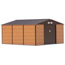 Zahradní domek G21 GAH 1300 - 340 x 383 cm, hnědý 63900584