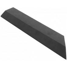 G21 WPC Přechodová lišta pro dlaždice Eben, 38,5 x 7,5 cm rohová (pravá) 63910033