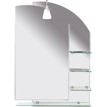 AQUALINE WEGA zrcadlo 65x90cm, s policemi 65028