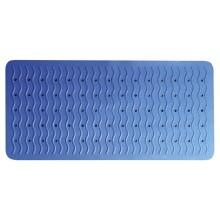 SAPHO RIDDER 68303 PLAYA podložka 38x80cm s protiskluzem, kaučuk, modrá