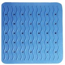 SAPHO RIDDER 68403 PLAYA podložka 54x54cm, s protiskluzem, kaučuk, modrá