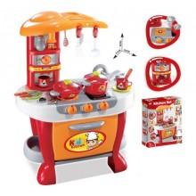 G21 kuchyňka Malý kuchař s příslušenstvím oranžová 690956