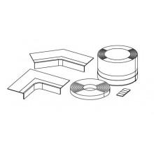 Kaldewei vanová těsnící páska WDB 95/standardní set pětiúhelníkové vaničky 7609