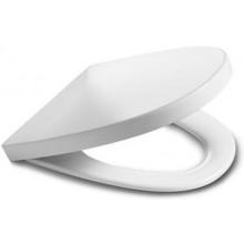 Roca Khroma klozetové sedátko s poklopem Ice White, Softclose 7801652004
