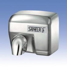 SANELA Elektrický bezdotykový osoušeč rukou SLO 02E s nerezovým krytem 79024