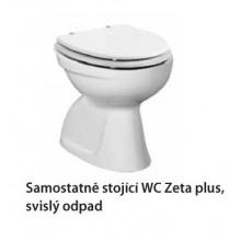 Jika ZETA PLUS samostatně stojící WC, svislý odpad 8.2174.6.000.000.1