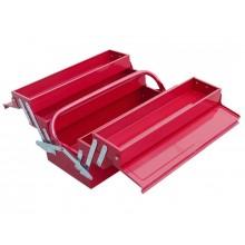 EXTOL CRAFT kufr na nářadí kovový, 5 přihrádek 81843