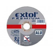 EXTOL PREMIUM kotouč řezný a brusný, řezný na hliník 115x1,0x22,2mm 8808400
