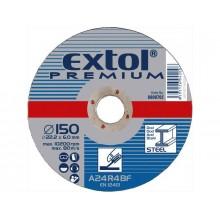 EXTOL PREMIUM kotouč řezný a brusný, brusný na ocel 115x6,0x22,2mm 8808700