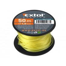 EXTOL PREMIUM provázek stavební, 1,7mm, žlutý 8847212