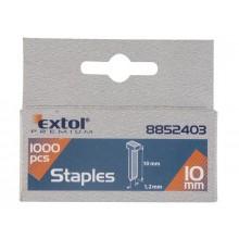 EXTOL PREMIUM hřebíky 10mm, 2.0x0.52x1.2mm, balení 1000ks 8852403