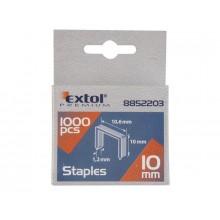 EXTOL PREMIUM spony 6mm, 11.3x0.52x0.70mm, balení 1000ks 8852501