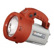 EXTOL PREMIUM svítilna nabíjecí halogenová s bočním světlem 8862122